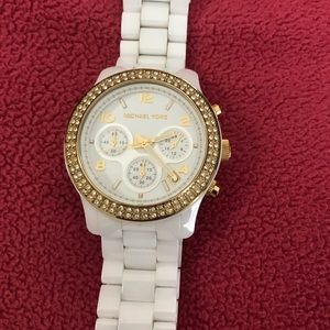 Michael Kors ceramic watch (authentic)